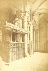 South Aisle Of Trinity Chapel, AD 1182, With The Tomb Of Edward The Black Prince